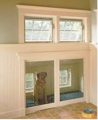 Glass Door With Dog Door Built In by 201 Best Doggy Doors Images On Pinterest Pet Door Doggies And