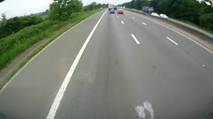 Driving Blind Spot Check Driver U0027forgets To Check Blindspot U0027 Then Flips Car Off Motorway