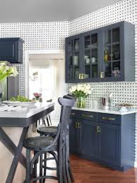 Moroccan Wall Decal by Kitchen Awesome Custom Kitchen Storage With Style With Blue