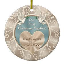 anniversary christmas ornament anniversary ornaments keepsake ornaments zazzle