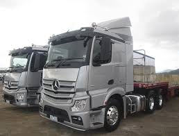 mercedes actros is back big actros test drive