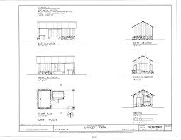 file dairy house elevations floor plan and section dudley
