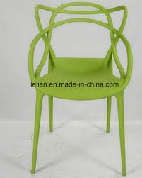 china moulded pp plastic stacking dining chair outdoor garden