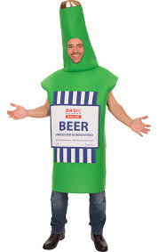 value fancy dress beer bottle costume jokers masquerade