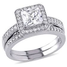 wedding ring sets engagement and wedding ring sets