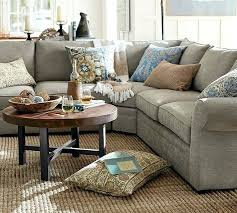 sectional reclining sectional with wedge table sectional sofas