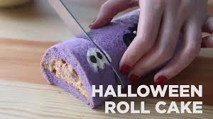 halloween roll cake recipe tastemade