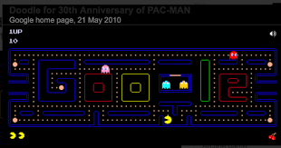 doodle pacman happy birthday 8 awesome doodles of all time