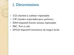chambre à cathéter implantable chambre implantable chimiotherapie