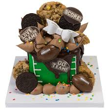 decopac football small cake