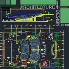 architecture design plans auditorum architecture design sles autocad drawings