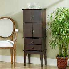 Dark Cherry Armoire Dark Wood Jewelry Armoire Home Design Ideas