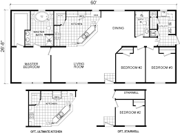 Floor Plans For Modular Homes Floor Plans The Malibu 2864 01 Manufactured And Modular Homes