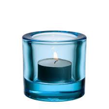 iittala kivi light blue tealight holder hus u0026 hem