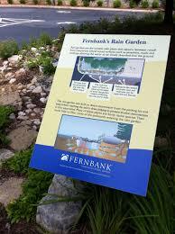 native plants for rain gardens fernbank u0027s rain garden museum musings