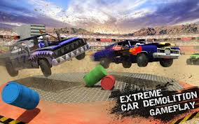 monster trucks crashing videos xtreme demolition derby racing muscle cars crash android apps