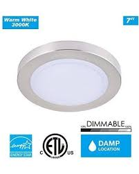 Small Flush Mount Ceiling Lights Deals On Cloudy Bay Lmffm712830bn 7 5 Inch Led Mini Flush Mount