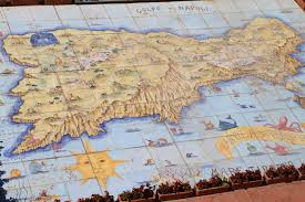 Map Of Capri Italy by Amalfi Coast Spinning Around The World
