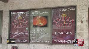 dirty dining inspectors shut down st pete restaurant indian