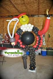 balloon delivery grand rapids mi palm tree balloon centerpiece balloon by 616