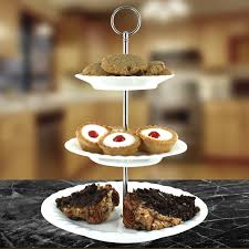 tiered cake stands porcelain 3 tier cake stand