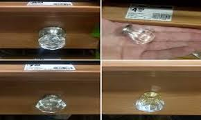 Kitchen Knobs For Cabinets Crystal Cabinet Knobs Discount Crystal Clear Cabinet Knobs