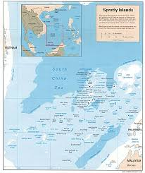 East China Sea Map by
