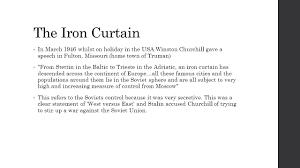 Winston Churchill And The Iron Curtain Iron Curtain Definition Winston Churchill Curtains Gallery