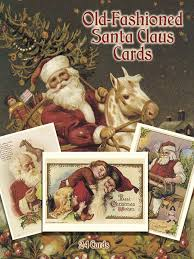 fashioned santa claus cards 24 cards dover postcards