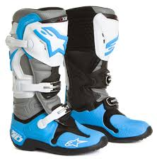 alpinestars tech 7 motocross boots alpinestars mx boots tech 10 cyan white grey 2016 maciag offroad