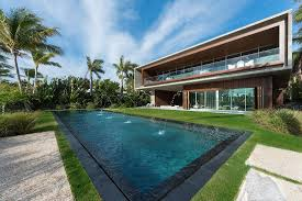 luxury miami beach house with man made lagoon could be yours for