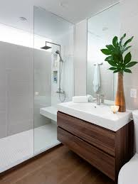Modelos De Banheiros Decorados White Sink Contemporary - Design of bathrooms