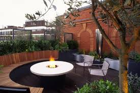 rooftop garden design furniture exterior enchanting roof garden design ideas with beige