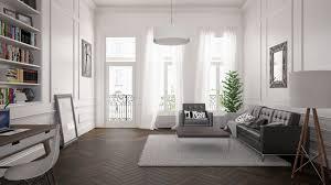 Interior Design Architectural Rendering HQ - European apartment design