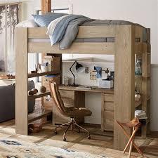 sleep study loft pbteen pottery barn teen loft bunk beds intersafe