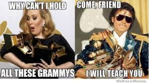 Grammy Memes - why cant i hold all these grammys adele w630