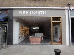new fired earth showroom kitchen sourcebook