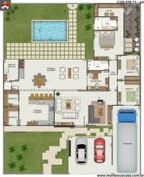 Modern Contemporary House Floor Plans Ranch Style House Plan 2 Beds 2 5 Baths 2507 Sq Ft Plan 888 5