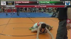 3276 schoolboy 128 andrew troczynski edge vs vincent page backyard