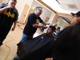 haircuts for the holidays local barbers give back at west early