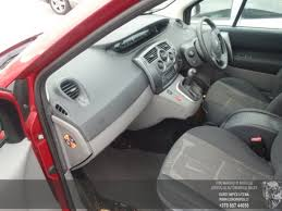 Renault Scenic 2005 Interior Renault Scenic 2005 1 6 Automatinė 4 5 D 2015 12 21 A2513 Used
