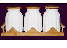 kitchen canisters ceramic tea coffee sugar kitchen jars ceramic storage canisters bamboo