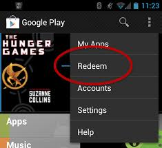 redeem play gift card gift card redemption showing up in play store for some