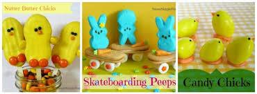 easter stuff skateboarding bunnies peeps sweet simple stuff