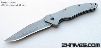 kershaw shallot zdp 189 steel