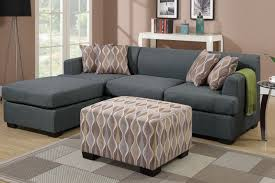 sofa with reversible chaise lounge grey fabric chaise lounge steal a sofa furniture outlet los