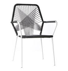Black Patio Dining Set - dining chair cool black rectangle modern wooden outdoor dining