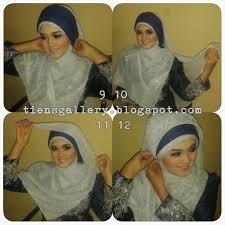 tutorial hijab syar i untuk pengantin tutorial jilbab pengantin syar i part 2 tien s gallery