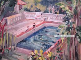 vintage postcard park swimming pool odessa texas 1960s postcards