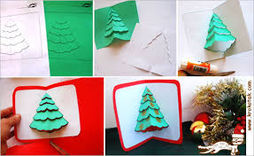 krokotak pop up christmas cards